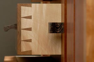 Hand Cut Dovetail Joinery
