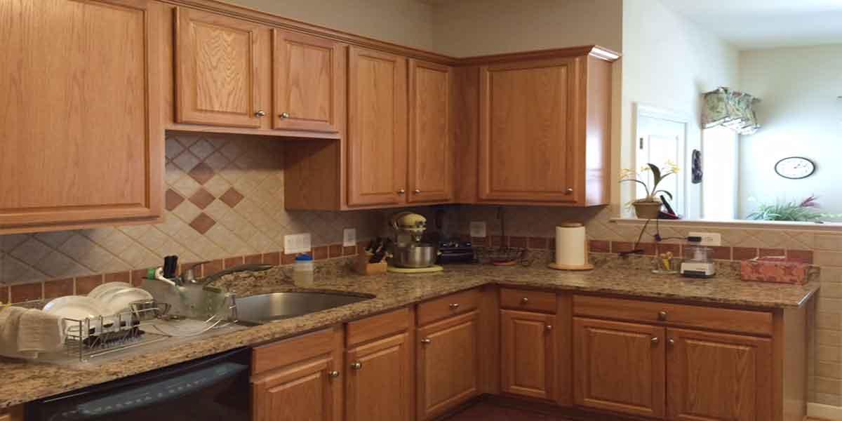 Stupendous Prorefinish Kitchen Cabinet Refacing Service Va Pro Refinish Home Remodeling Inspirations Genioncuboardxyz